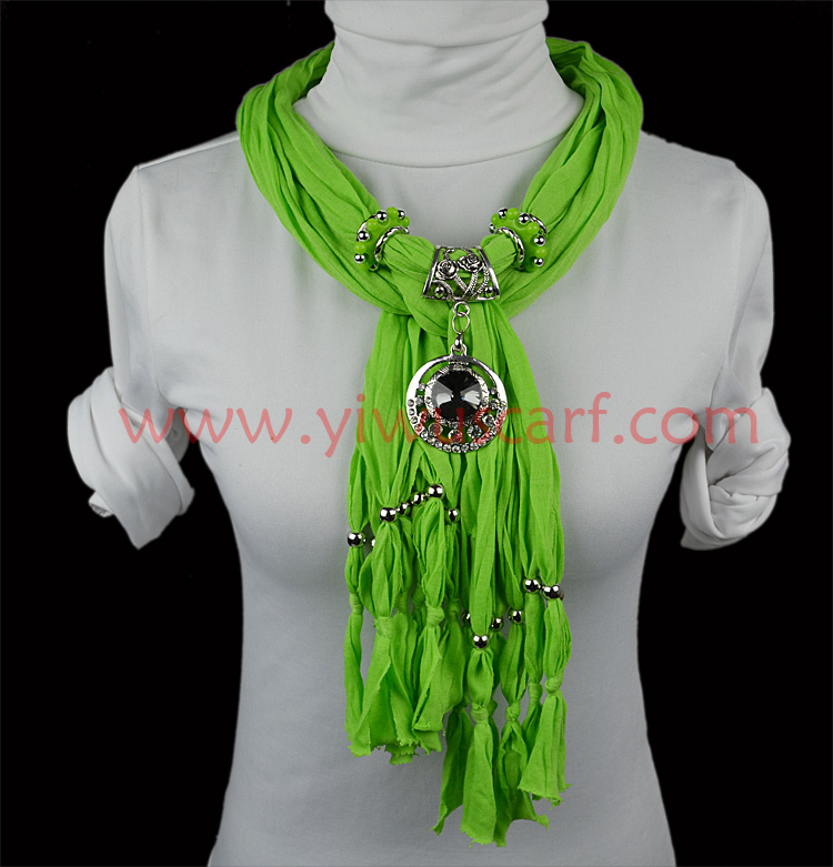 China pendant scarf necklace wholesale