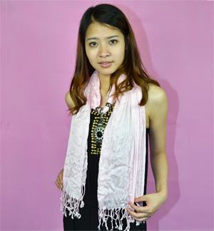 Fashion Alloy Indonesia pendant jewelry scarf