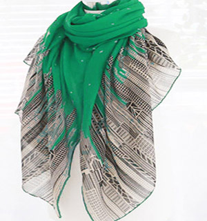 new design of polyester scarves wholesale