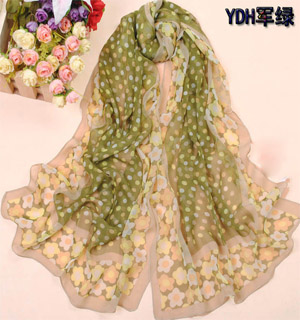 inexpensive silk scarves