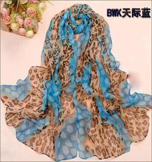 China silk chiffon scarves