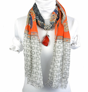 wholesale pendant scarf