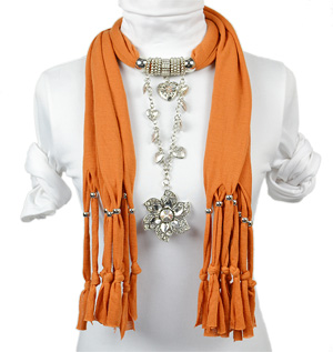 pendant scarf jewelry uk