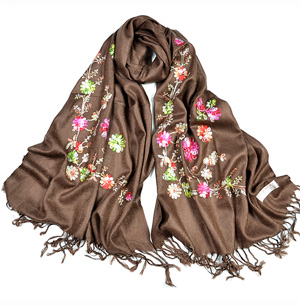 Embroidery Cashmere Shawls Scarves For Women