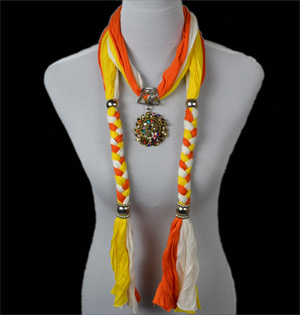 Wholesale Scarf Necklace Jewelry Pendant scarves