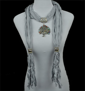 pendant scarf necklace jewellery