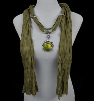 necklace scarves peacock shawl