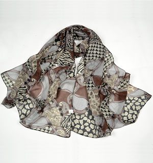 colorful scarf flowing silk scarves
