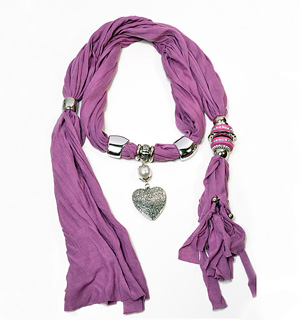 pendant scarves supply market