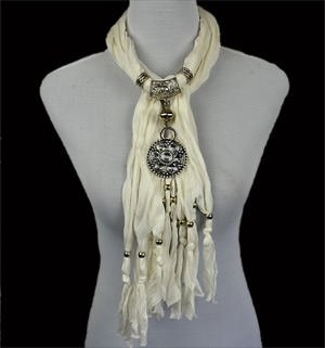 wholesale scarves with pendants