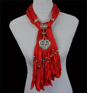 Wholesale Metal Pendant Scarves Scarf