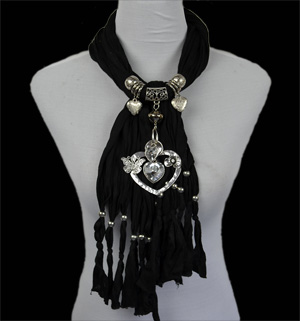 Wholesale Charm Pendant Scarves