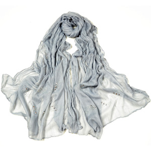 Womens Fashion Rhinestone Scarves