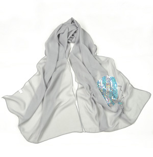 china silk scarves