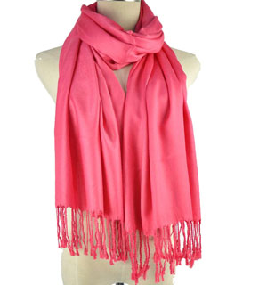 Solid color cotton scarves Canada