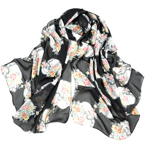 wholesale silk scarf Supply