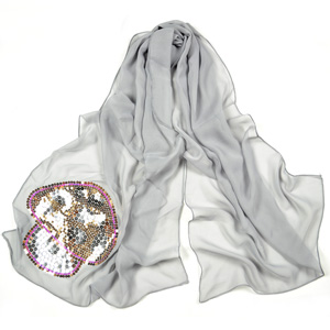 womens silk scarves