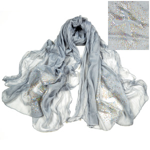 Cross hot diamond scarf