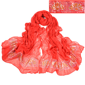 Wholesale Sequined scarf