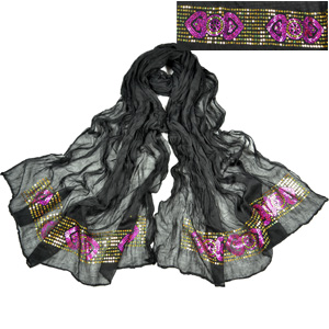 sequin scarf cardigan wholesale