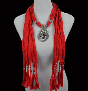 jewelry scarf jewellery with pendant