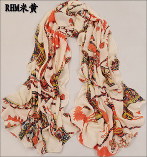 silk scarves london