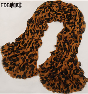 leopard print scarves wholesale