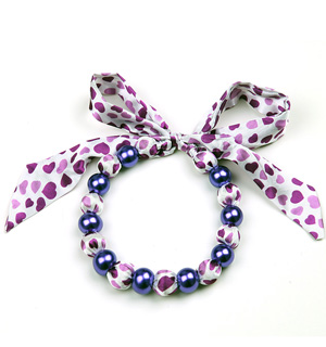 Flower Necklace Scarf