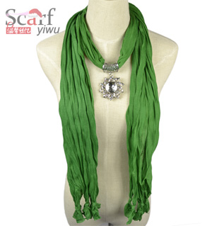 Sunflower pendant scarf lavender new collection