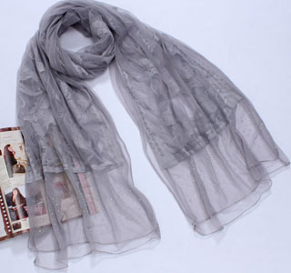 Hot drill scarves fashion lace scarf