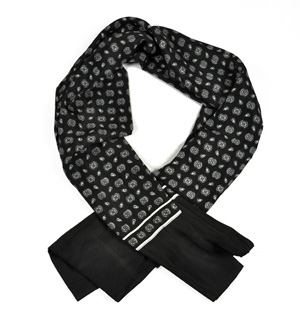 silk scarf for men