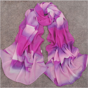 Hand-painted Silk Scarf wholesale