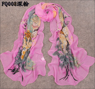 Chinese peacock scarf wholesale