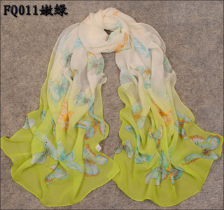 Wholesale flower scarves factory