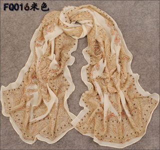 Wholesale fashion silk scarf