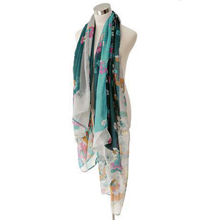 Flowers are blooming scarf Wholesale scarves
