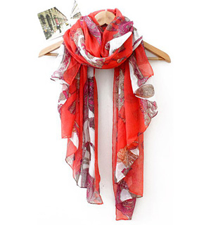China Polyester Scarves
