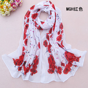 Chiffon Scarf in Latest Scarves and Wraps for Women