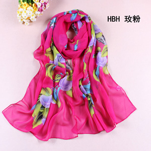 Wholesale silk chiffon scarf