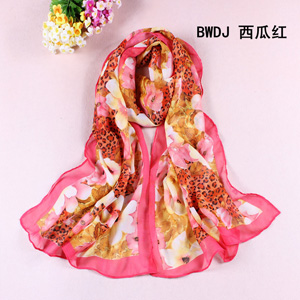 Silk Yarn Chiffon Scarves