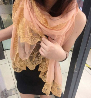 Womens Lace Scarf wholesale