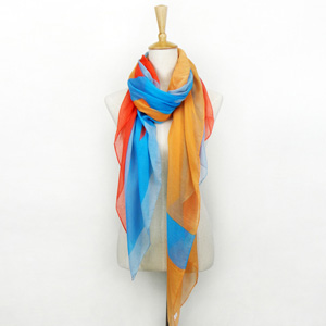 Beach Rainbow Scarf Shawl