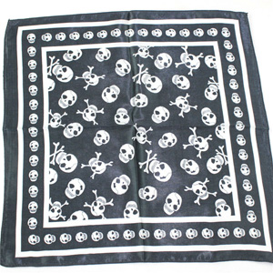 Skull women Silk Scarf
