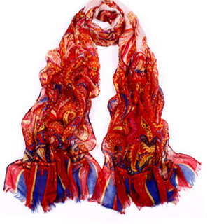 Fashion Light Scarf Paris Yarn Scarf
