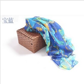 colour skull Paris yarn scarf wholesale