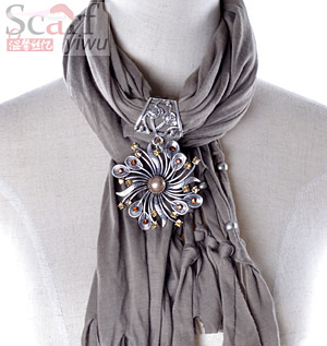 women cheap pendant scarf
