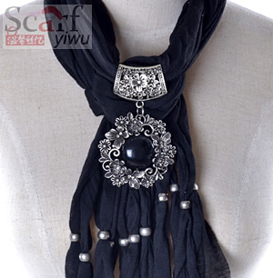 wholesale pendant scarf with jewelry