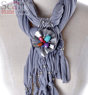 new style pendant jewelry scarf