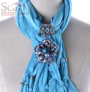 cheap women pendant jewelry scarf