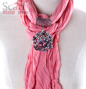 Wholesale Fashion Jewelry Pendant Scarf